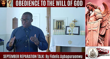 OBEDIENCE TO THE WILL OF GOD
