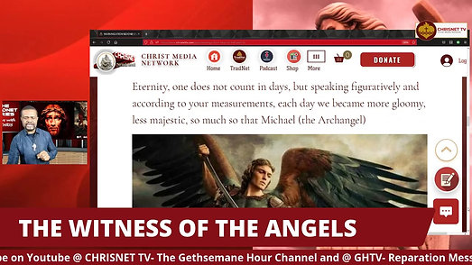 WITNESS OF THE ANGELS (Warnings From Hell, Part 10)