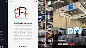 Pagina Web Arte + Eventos