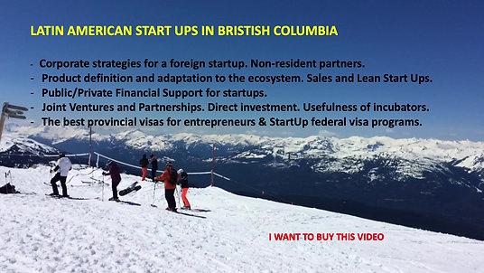 STARTUPS IN BRITISH COLUMBIA