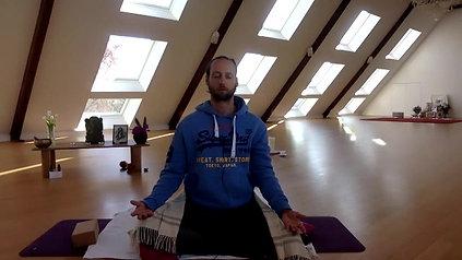 Morgen Meditation und Ice Atem Challenge