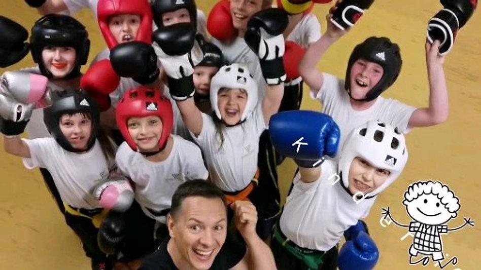 Kampfsport für Kinder und Erwachsene