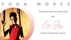 Yoga Moves with Lisa Jay S1E10 IYENGAR Premium Edition