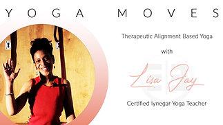 Yoga Moves with Lisa Jay S1E4 IYENGAR Basic Edition