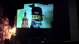 "Videomapping Mural ""Neones"""