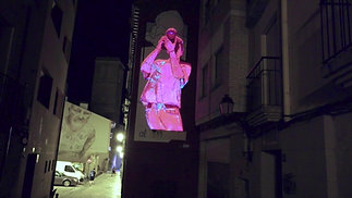 "Videomapping Mural ""Ser Digital"""