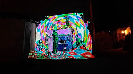 Videomapping Mural Camprovin02