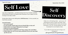 September LIVE Class_Self Discovery