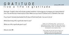 January Week Four_Gratitude