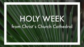 Palm Sunday- March 28. 2021