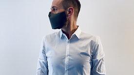 Klebende Maske mit Bügel