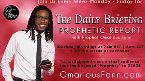 The Daily Briefing Prophetic Report 6-15-21