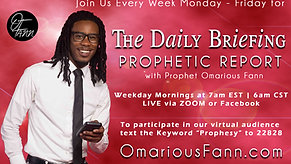 The Daily Briefing Prophetic Report 6-25-21
