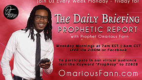The Daily Briefing Prophetic Report 6-1-21