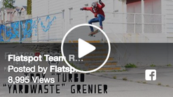 Flatspot Team Rider: Troy Grenier