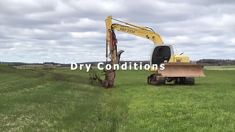 Ditch Doctor DD15 in dry conditions