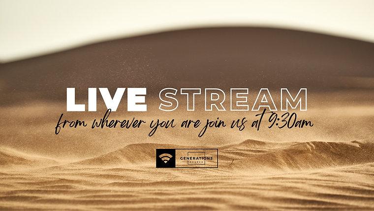 Generations Church Live Stream | Sunday Services