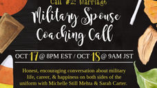 Military Spouse Coaching Call 2: Marriage