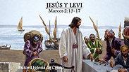 """""""Jesus y Leví"""" (Marcos 2:13-17) por Juan N. Garcia"""