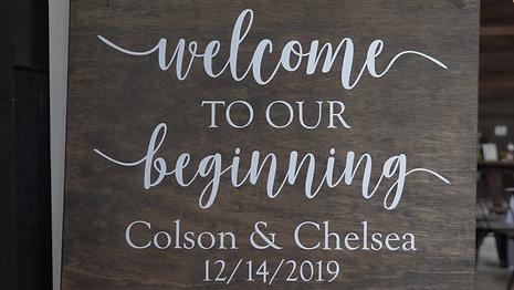 Colson + Chelsea Sims Highlights 2
