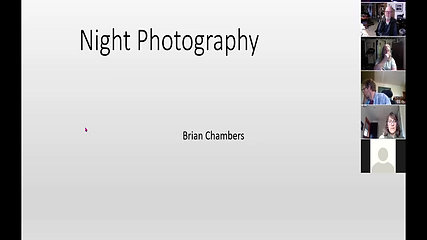 night photography zoom class april 13