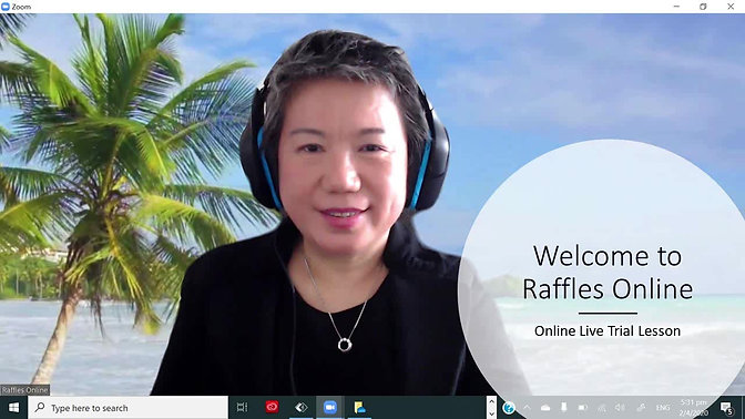 Online Live Trial Lesson
