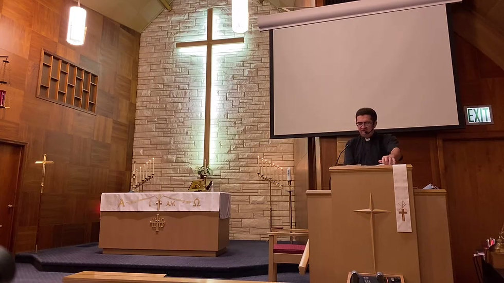 St. Paul's Lutheran Church Worship | January 10, 2021