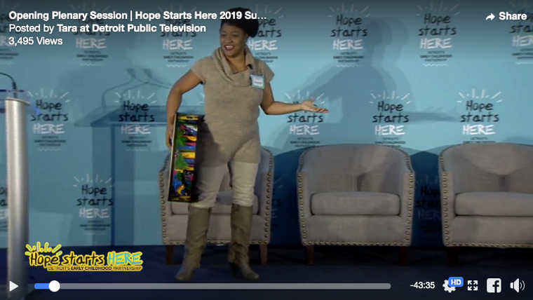 Hope Starts Here Energizer