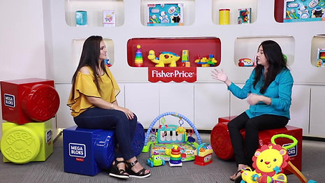 How To Pick Up Toys And What are The Right First Toys Fisher-Price Part 3 #AskTheExpert