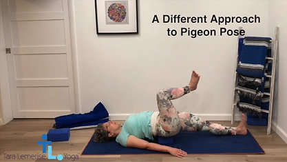 A Different Approach to Pigeon Pose