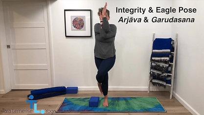 Integrity & Eagle Pose
