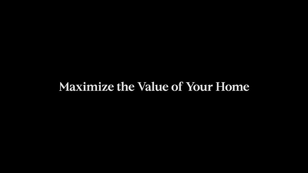 Maximize Your Home's Value