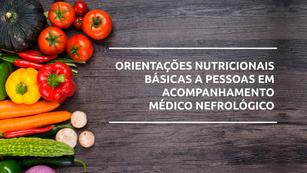 TV CCR | ORIENTAÇÕES NUTRICIONAIS BÁSICAS