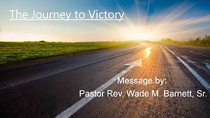 The Journey to Victory