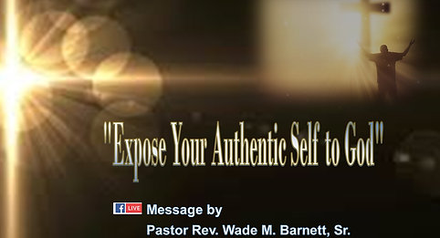 Expose your authentic self to God! 2 Samuel 6