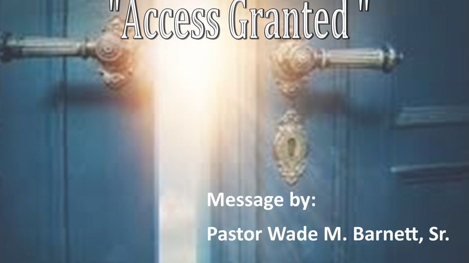ACCESS GRANTED!