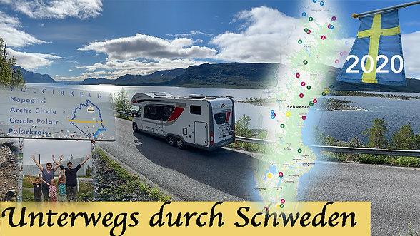 Mit dem WOHNMOBIL durch SCHWEDEN: Ein ROADTRIP Reisebericht I Übernachtungsplätze mit GPS-Daten