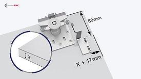 Система раздвижных дверей SDS 9300