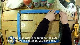 DIY-Chickenwire-Organizer