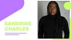 Sandrine Charles (Communications Consultant)
