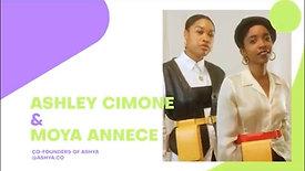 Ashley and Moya (Co-Founders of ASHYA)
