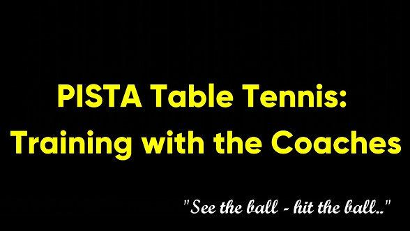 Pista Table tennis