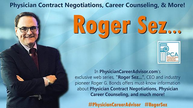 Physician Contract Negotiation, Career Counseling, & More!