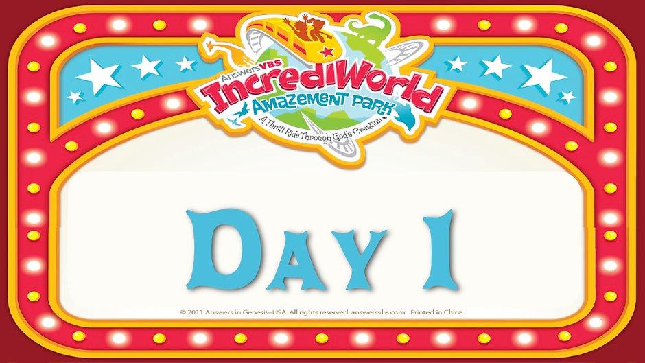 IncrediWorld VBS Day 1