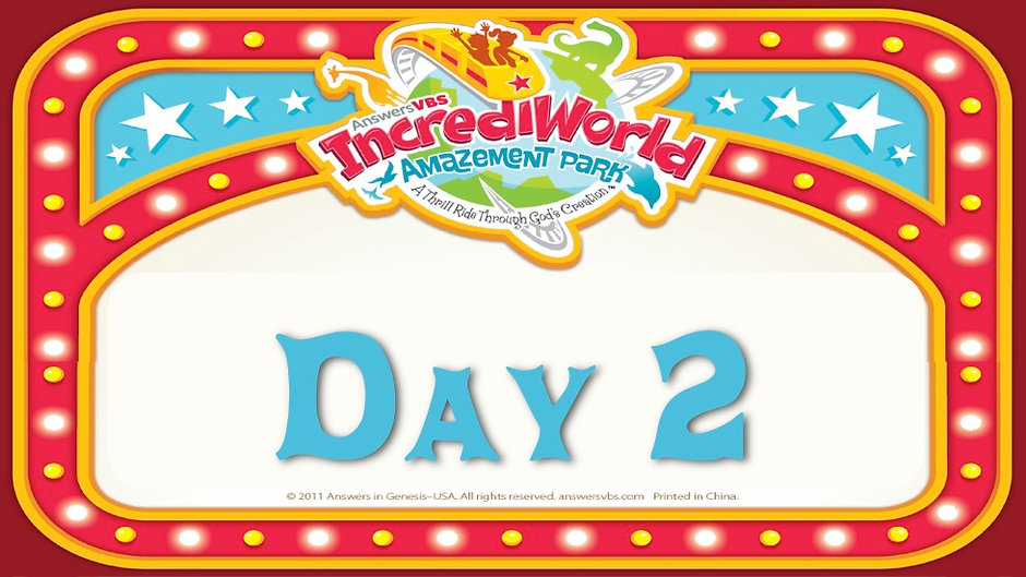 IncrediWorld VBS Day 2