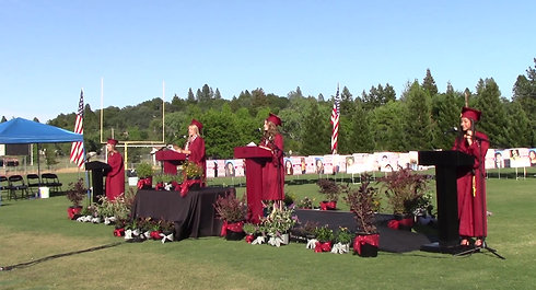 Bear River High School Graduation 2020