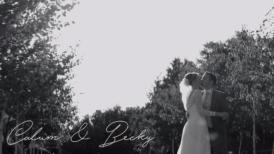 Calum & Becky Highlights