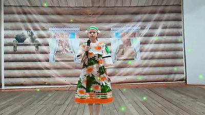 "Ложкина Аня, 11 лет - ""В горнице"", с.Покровка, Амгинский улус"