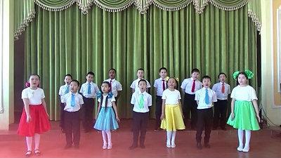 """Коллектив 2б класса, 8 лет  - """"О5о саас"""", с. Амга, Амгинский улус"""