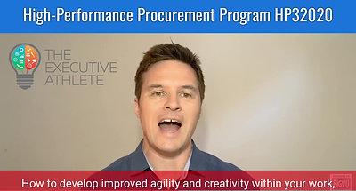 High Performance Procurement Program (HP32020) Promotion